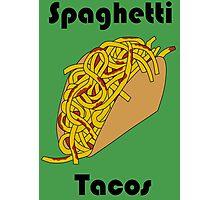 Spaghetti Taco Photographic Print