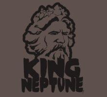 King Neptune Head - Black Kids Clothes