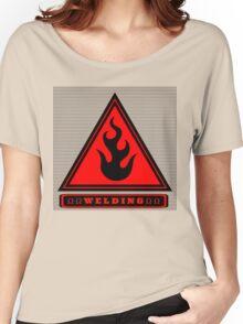 Ω Code Ω Welding Ω Women's Relaxed Fit T-Shirt