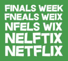 Finals Week Netflix One Piece - Short Sleeve