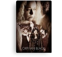 Orphan Black- Clones Canvas Print