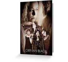 Orphan Black- Clones Greeting Card