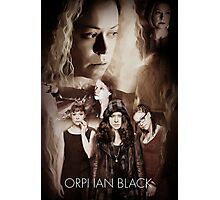 Orphan Black- Clones Photographic Print