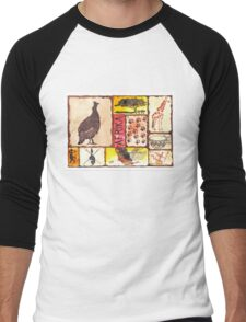 'n Afrika Collage en Bosvelddrome | An African Collage   Men's Baseball ¾ T-Shirt