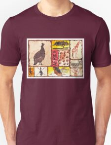 'n Afrika Collage en Bosvelddrome | An African Collage   Unisex T-Shirt