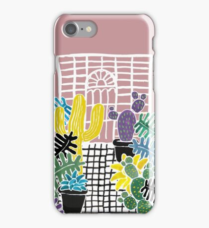 Cacti & Succulent Greenhouse iPhone Case/Skin