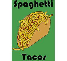 Spaghetti Tacos 2 Photographic Print