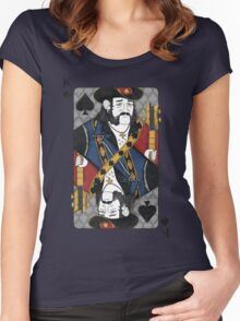 Lemmy - King of Spades - Tribute to Motorhead Women's Fitted Scoop T-Shirt