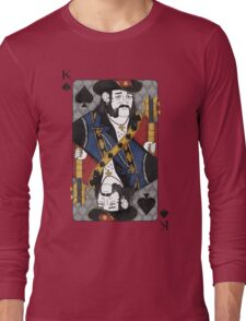 Lemmy - King of Spades - Tribute to Motorhead Long Sleeve T-Shirt