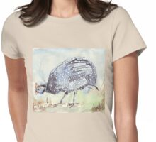Listen to the Guinea Fowl Womens Fitted T-Shirt