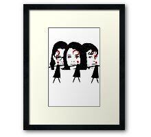 Orphan Black- Who am I? Framed Print