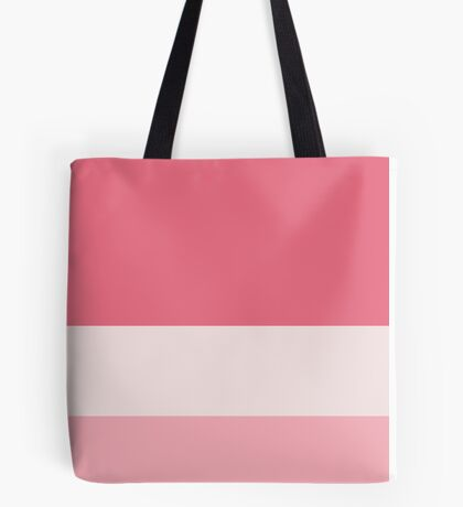 The Pink Tricolor  Tote Bag