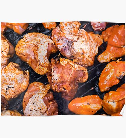 Chicken Barbecue Poster