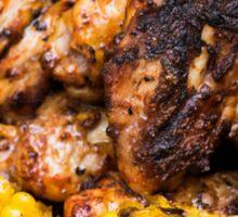 Corn and Chicken Sticker