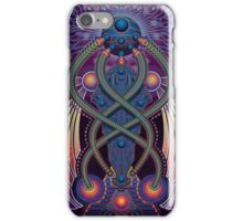 Unique abstract poster designs-Digital divinity iPhone Case/Skin