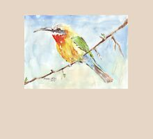 Whitefronted Bee-eater (Merops bullockoides) Womens Fitted T-Shirt