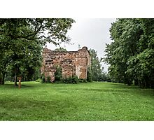 Churches destroyed Photographic Print