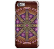 Unique abstract poster designs-Hexagon Feathers iPhone Case/Skin