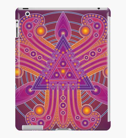 Unique abstract poster designs-Tri Petals iPad Case/Skin