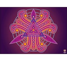 Unique abstract poster designs-Tri Petals Photographic Print
