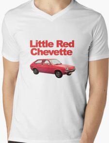 Little Red Chevette Mens V-Neck T-Shirt