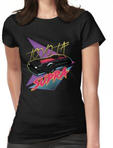80s Toyota Supra Womens Fitted T-Shirt