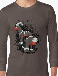 Houndour and Houndoom Splatter Long Sleeve T-Shirt