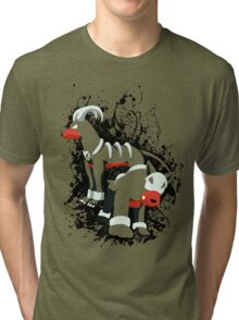 Houndour and Houndoom Splatter Tri-blend T-Shirt
