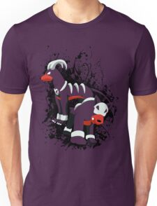 Houndour and Houndoom Splatter Unisex T-Shirt
