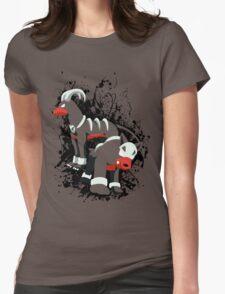 Houndour and Houndoom Splatter Womens Fitted T-Shirt