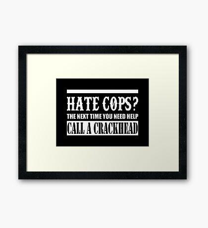 Cops? Framed Print