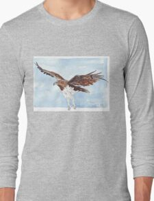 Martial Eagle {Polemaetus Bellicosus} Long Sleeve T-Shirt