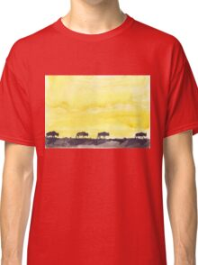 Wildebeest against the Sunset Classic T-Shirt