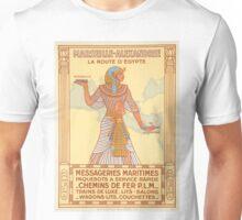 Vintage Egypt 1927 Travel Poster Unisex T-Shirt