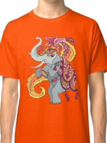 Elephant Illustration Classic T-Shirt