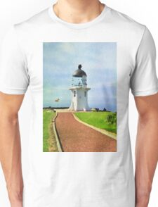 Old lighthouse in watercolor Unisex T-Shirt