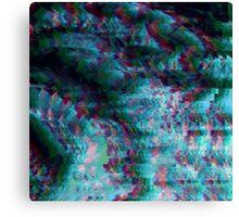 Deep Glitch Canvas Print