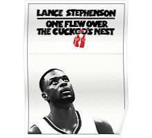 Lance Stephenson - One Flew Over the Cuckoo's Nest Poster