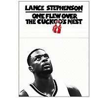 Lance Stephenson - One Flew Over the Cuckoo's Nest Photographic Print