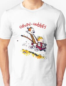Calvin and Hobbes T-shirt - Funny shirt  Unisex T-Shirt