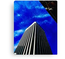 Scraping the Sky. Canvas Print
