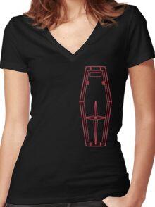 Feddie Fan Club Accessory Kit Women's Fitted V-Neck T-Shirt