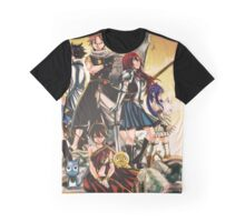 fairy tail the whole team Graphic T-Shirt