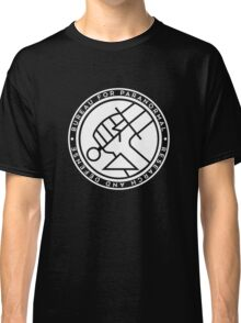 BPRD white icon Classic T-Shirt