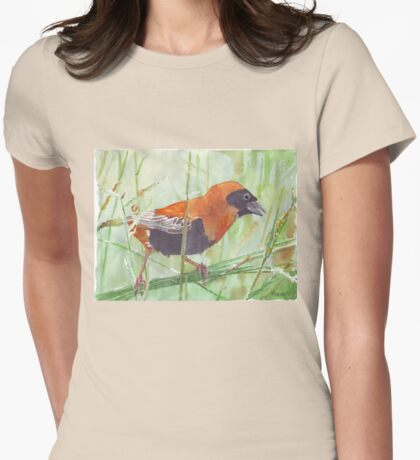 The Red Bishop 1 Womens Fitted T-Shirt