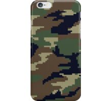 Pixel Camouflage iPhone Case/Skin