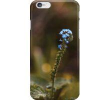 Little Blue Flowers iPhone Case/Skin