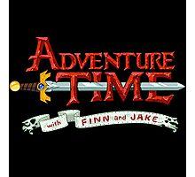 adventure time logo Photographic Print