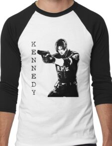 Leon Kennedy Resident Evil 2 Men's Baseball ¾ T-Shirt