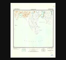 USGS TOPO Map Alaska AK Nushagak Bay 361266 1945 250000 Unisex T-Shirt